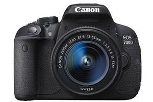 Canon EOS 700D Kit als Kamera Schnäppchen im Sonderangebot