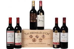 Goldprämierte Bordeaux-Selektion im Angebot als Wein Schnäppchen