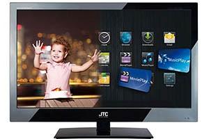 JTC 24C Smart TV 24 Zoll Full HD LED Fernseher im Angebot als Fernseher Schnäppchen bei Plus im Sonderangebot