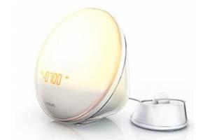 Philips HF3550/01 Wake-Up Light im Angebot als iPhone Zubehör Schnäppchen