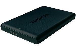 """Externe Festplatte 6.35 cm (2.5 """") 500 GB Toshiba STOR.E PLUS Schwarz USB 3.0 als Schnäppchen im Sonderangebot"""