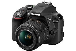 Nikon D3300 Kit 18-55 mm VR II im Angebot Kamera zum Schnäppchenpreis