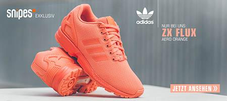 SNIPES Schnäppchen adidas Schuh ZX FLUX aero orange
